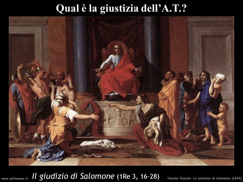 Qual è la giustizia dell'A.T.