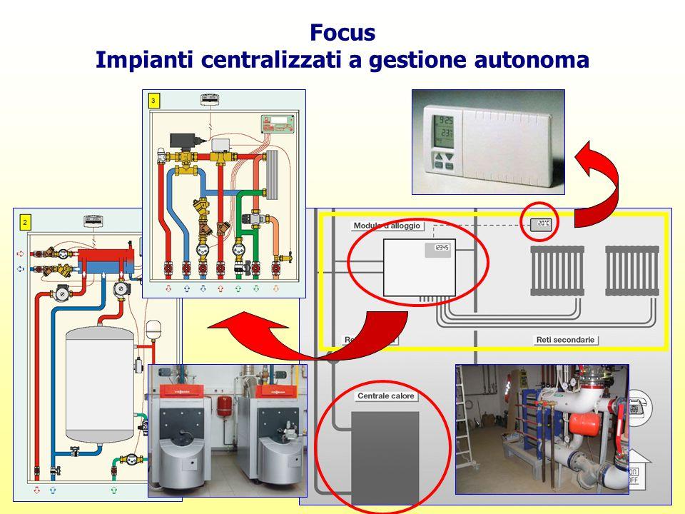 Impianti centralizzati a gestione autonoma