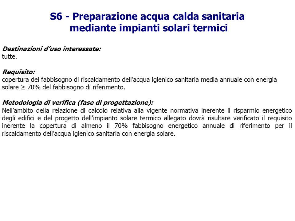 S6 - Preparazione acqua calda sanitaria