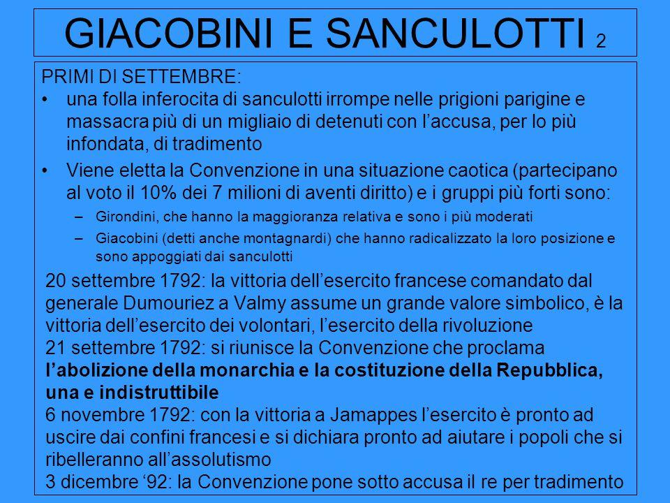 GIACOBINI E SANCULOTTI 2