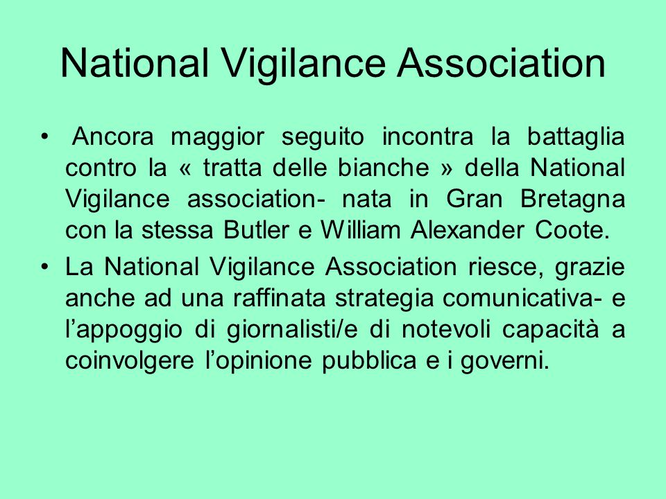 National Vigilance Association