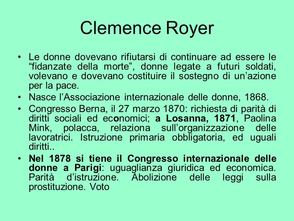 Clemence Royer