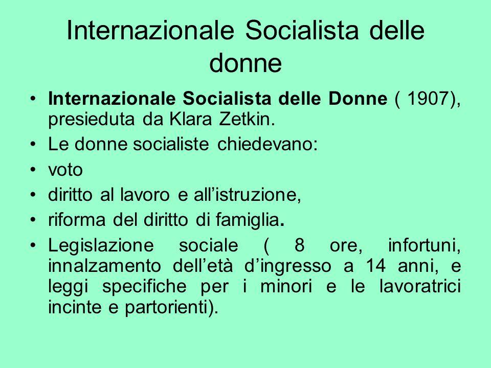 Internazionale Socialista delle donne