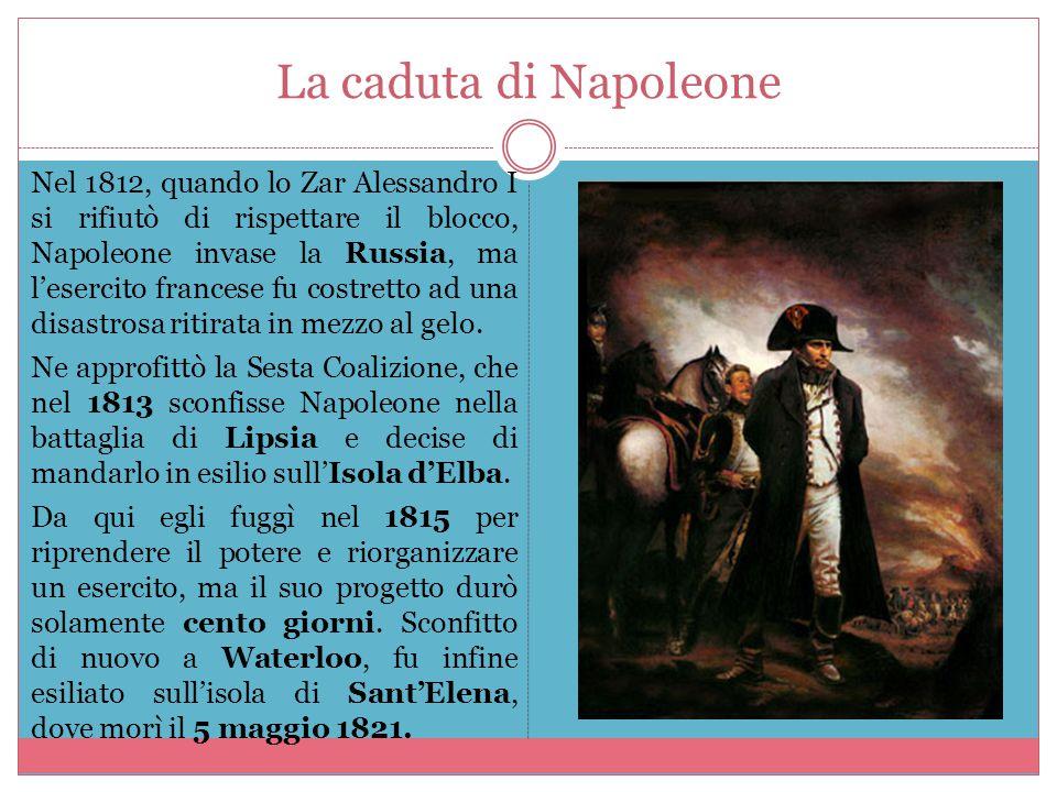 La caduta di Napoleone