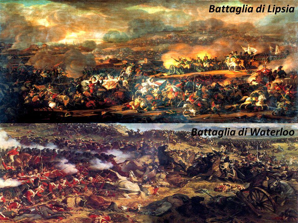Battaglia di Lipsia Battaglia di Waterloo