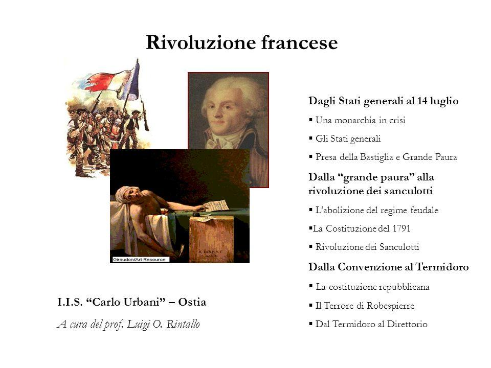 Rivoluzione francese I.I.S. Carlo Urbani – Ostia