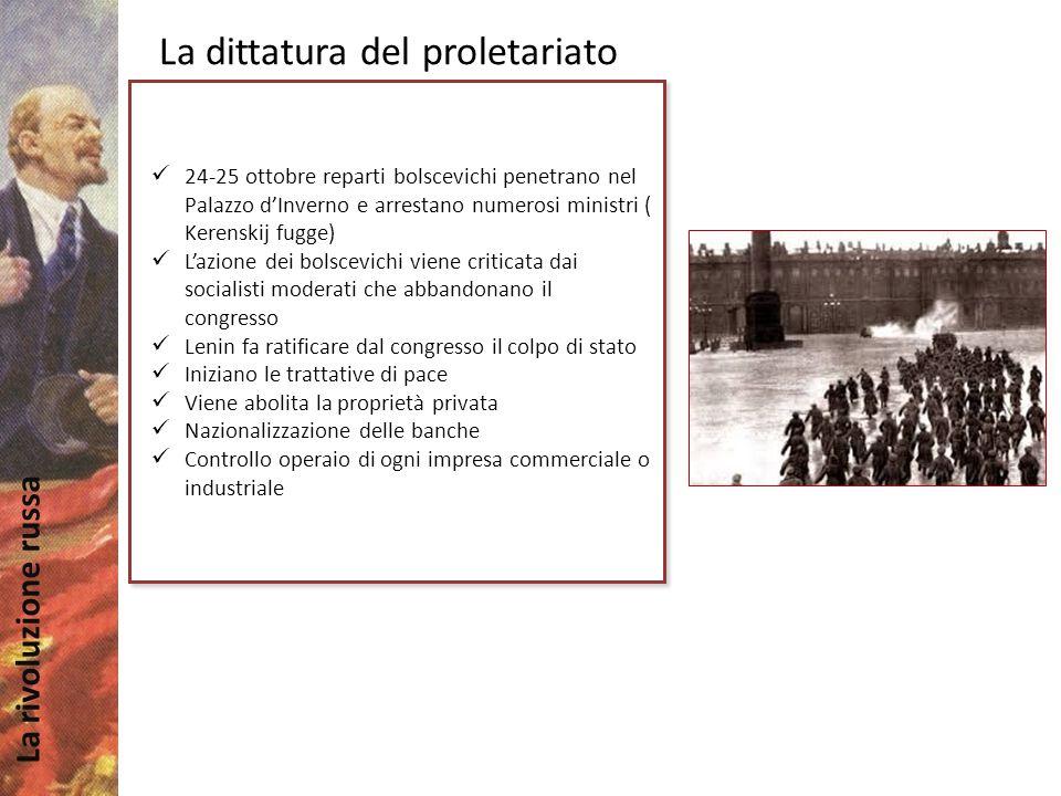 La dittatura del proletariato