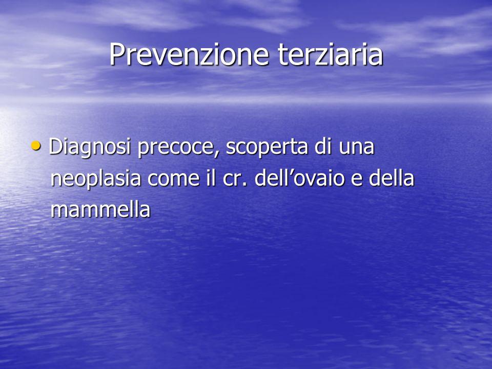 Prevenzione terziaria