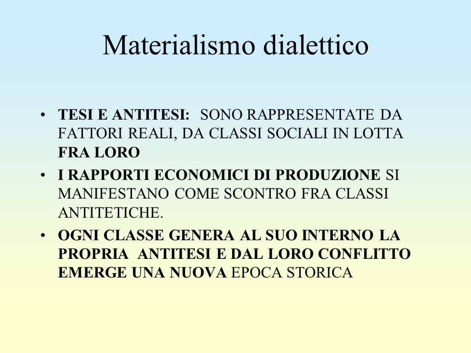 Materialismo dialettico