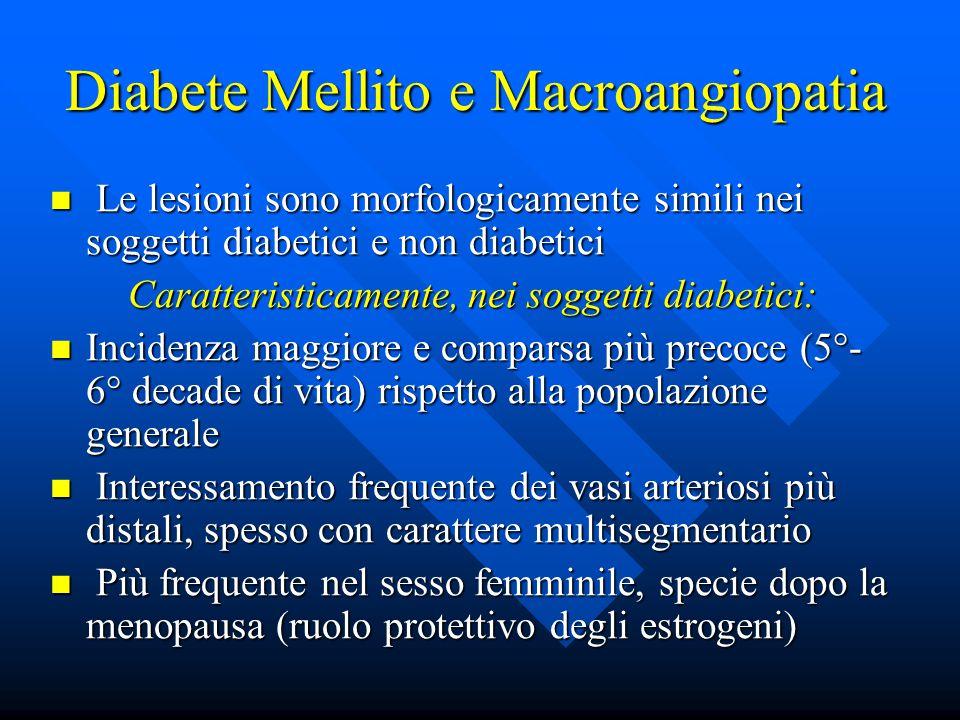 Diabete Mellito e Macroangiopatia