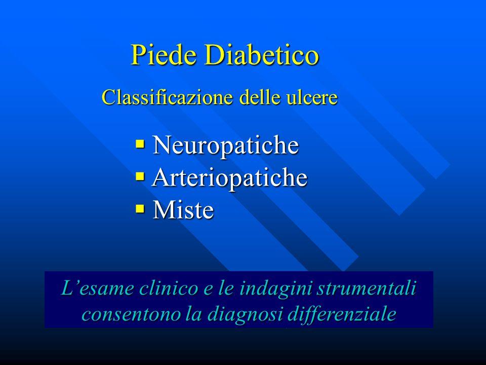 Piede Diabetico Neuropatiche Arteriopatiche Miste