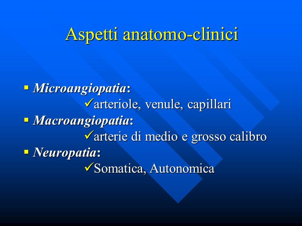Aspetti anatomo-clinici