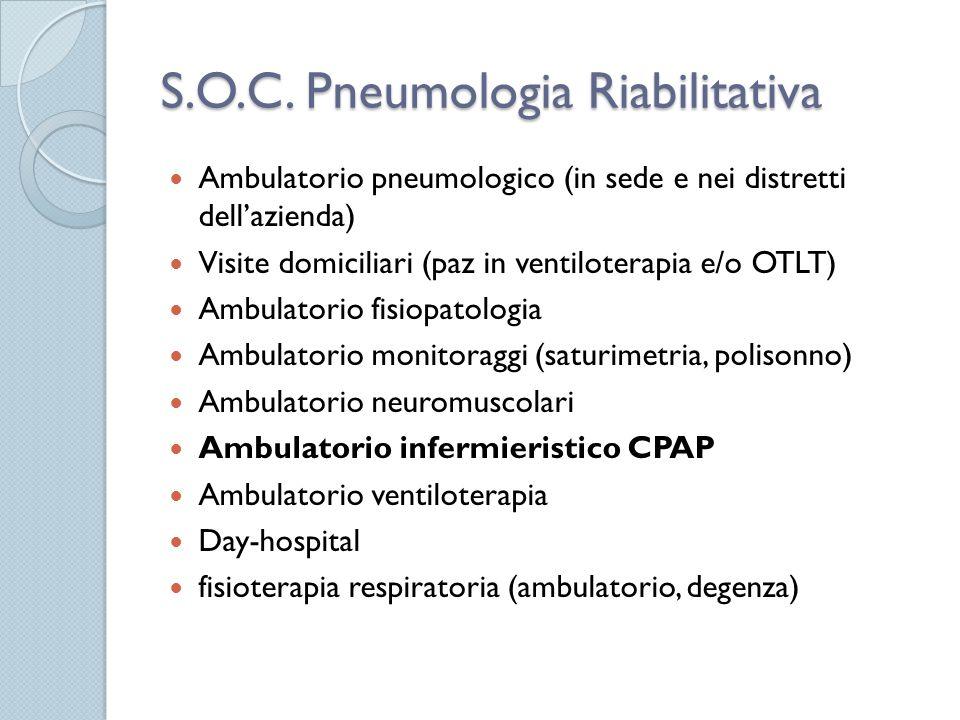 S.O.C. Pneumologia Riabilitativa