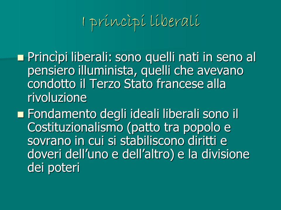 I princìpi liberali