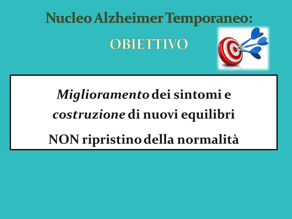 Nucleo Alzheimer Temporaneo: OBIETTIVO