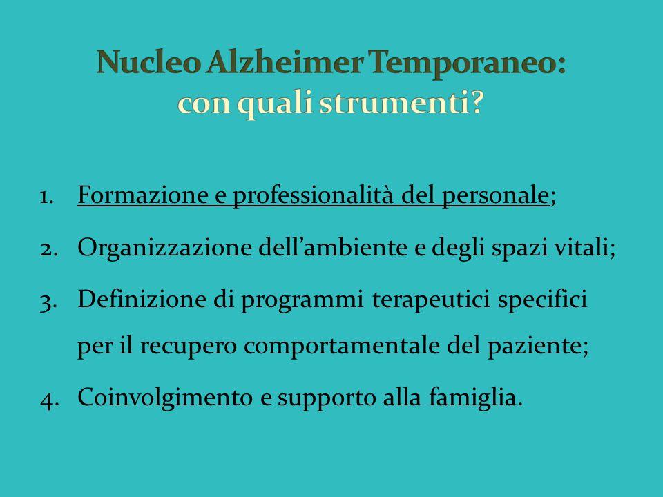 Nucleo Alzheimer Temporaneo: con quali strumenti