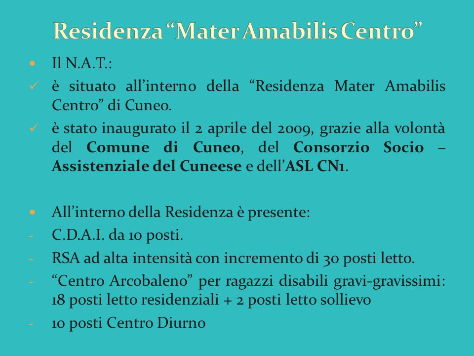 Residenza Mater Amabilis Centro