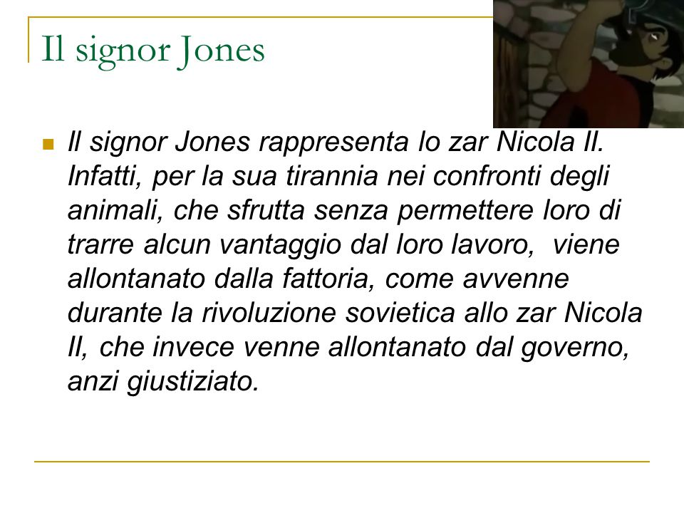 Il signor Jones