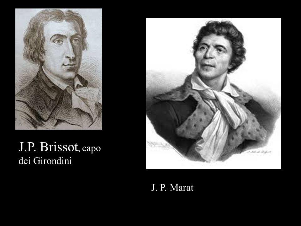 J.P. Brissot, capo dei Girondini