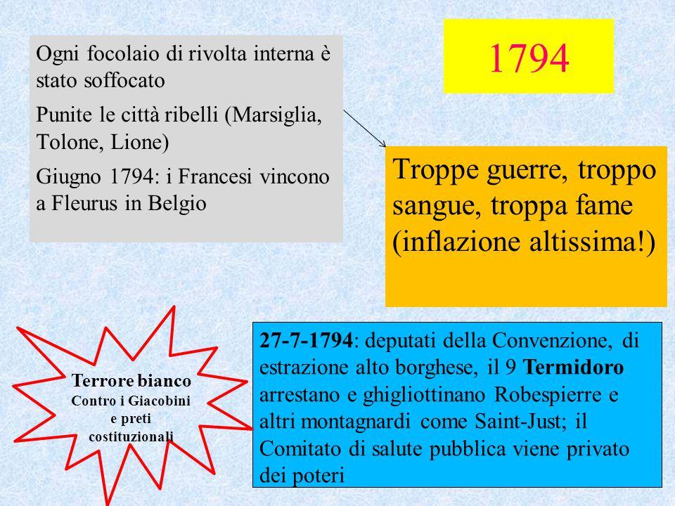 Contro i Giacobini e preti costituzionali