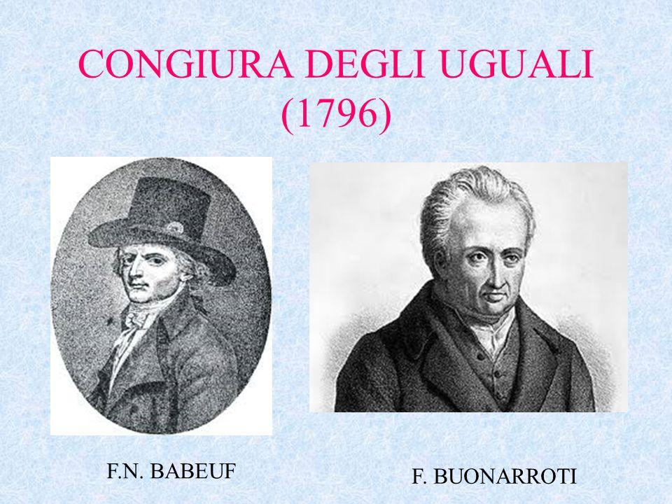 CONGIURA DEGLI UGUALI (1796)