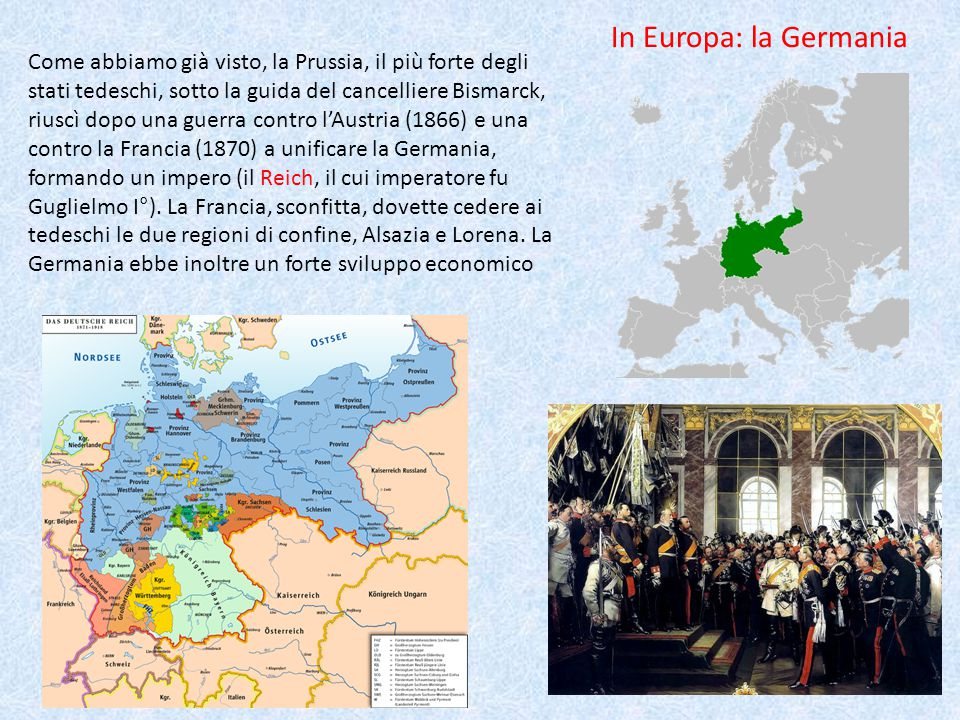 In Europa: la Germania