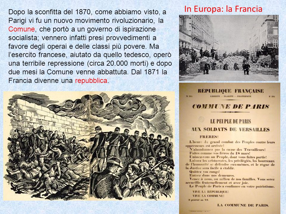 In Europa: la Francia