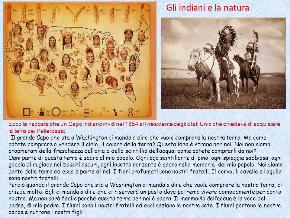 Gli indiani e la natura