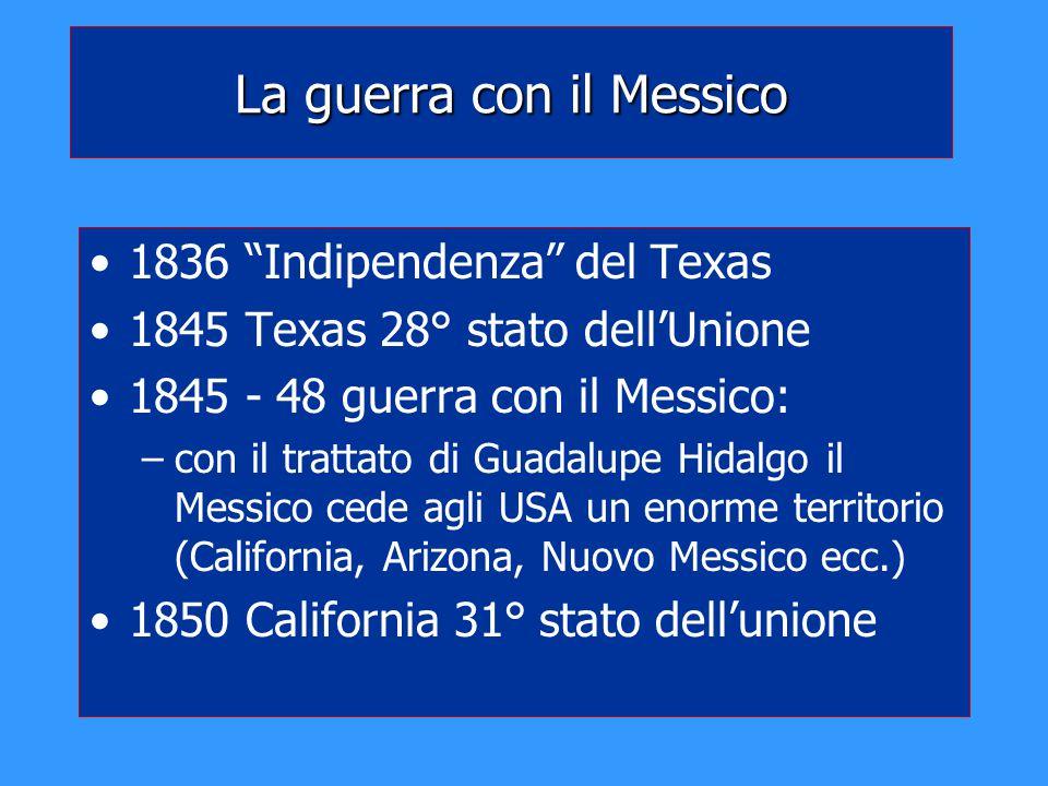 La guerra con il Messico