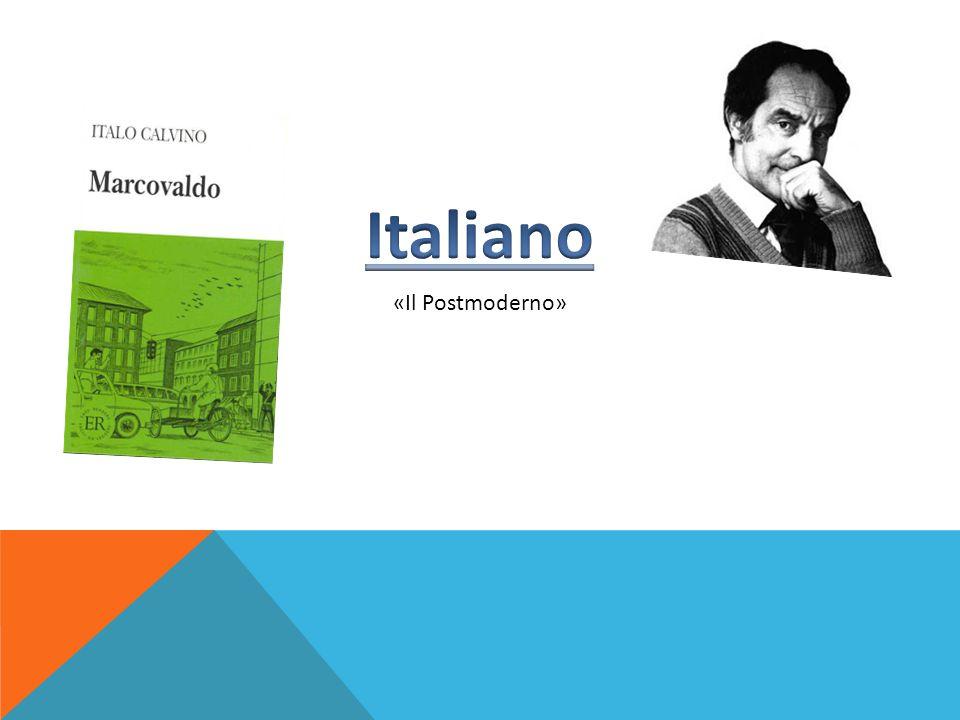 Italiano «Il Postmoderno»
