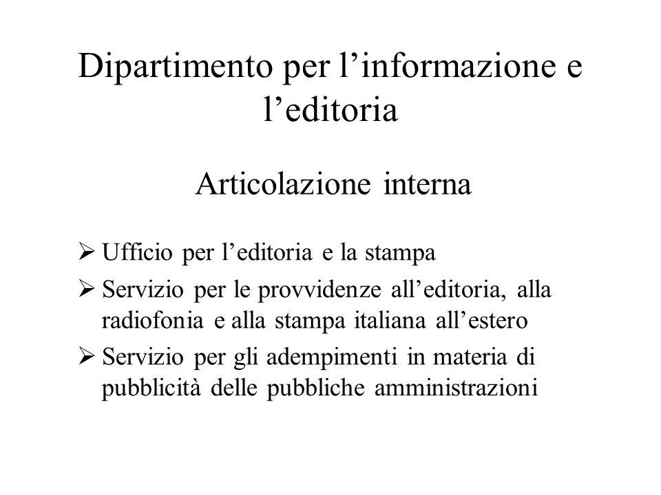 Dipartimento per l'informazione e l'editoria