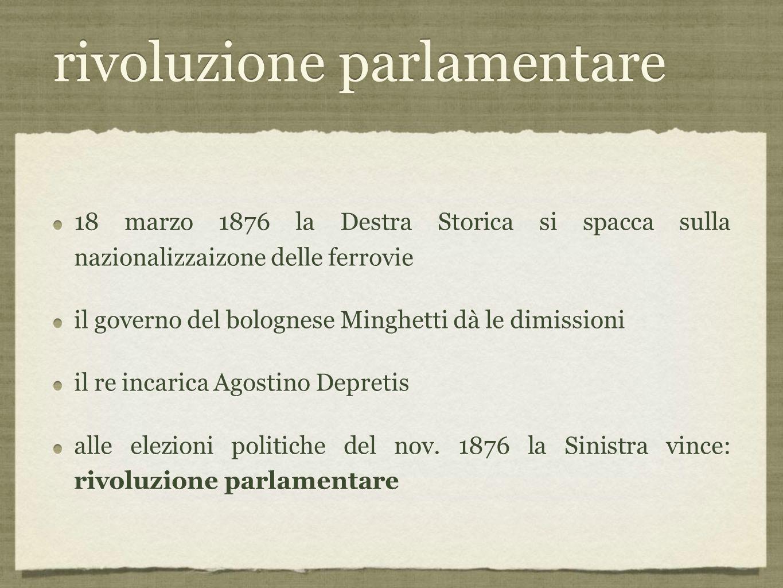 rivoluzione parlamentare