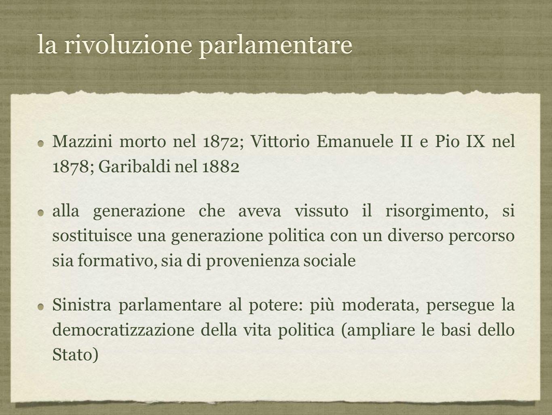 la rivoluzione parlamentare