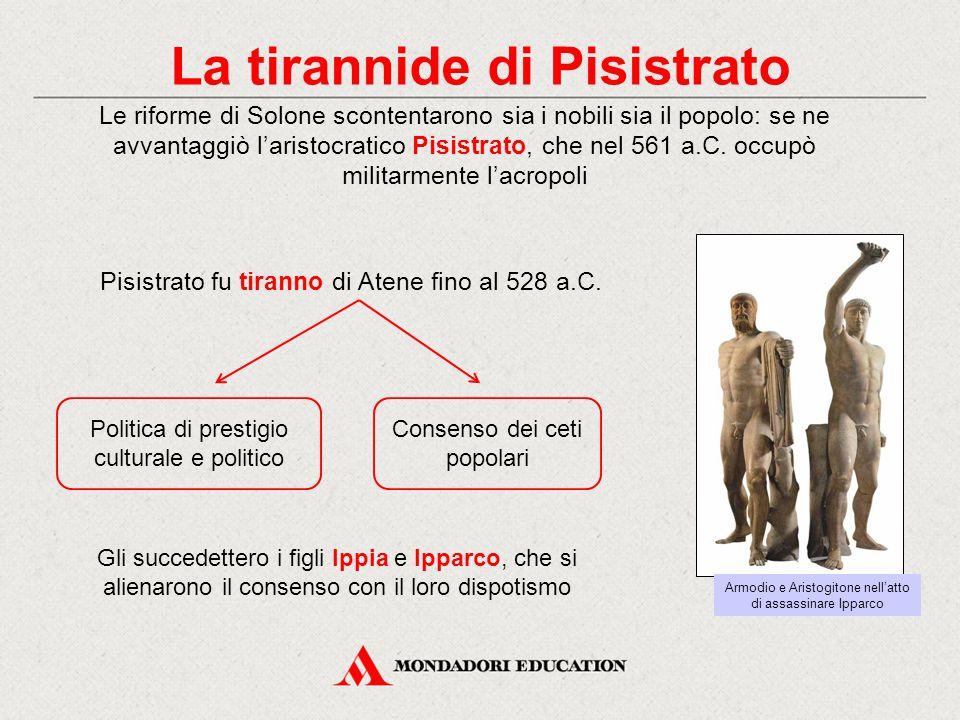 La tirannide di Pisistrato