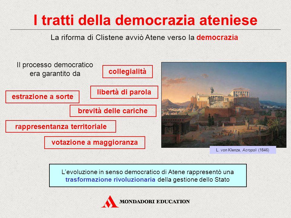 I tratti della democrazia ateniese