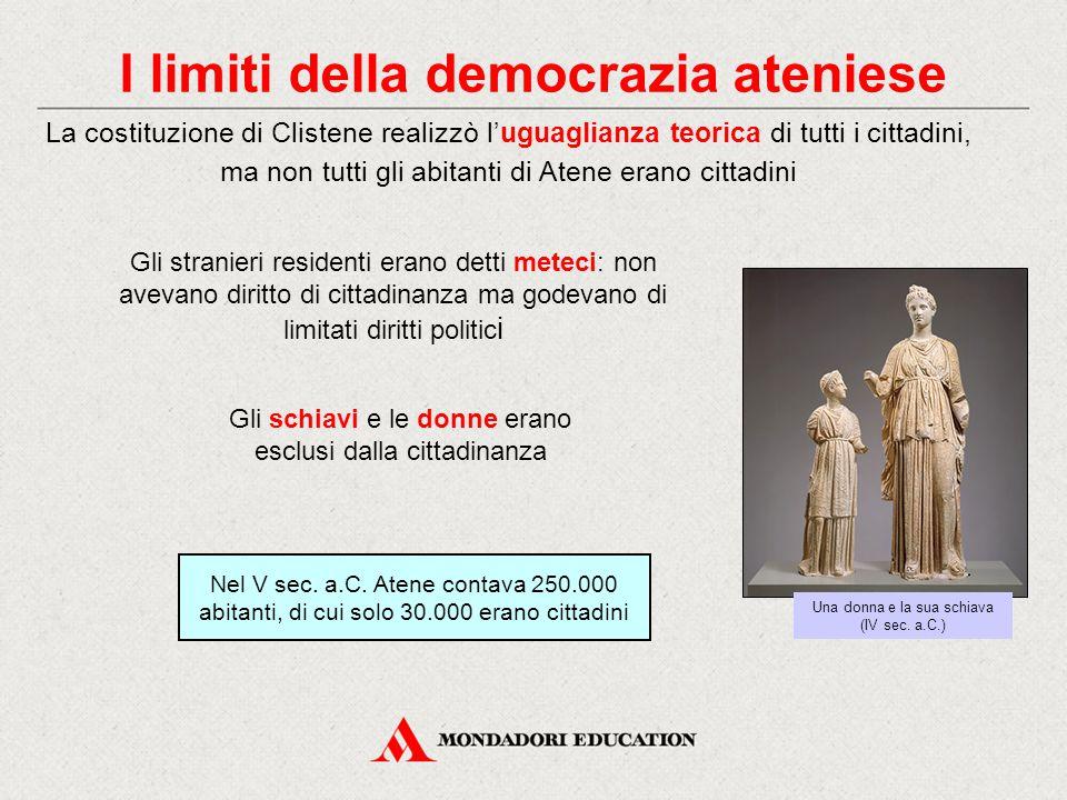 I limiti della democrazia ateniese