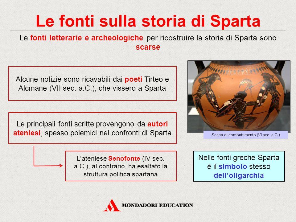 Le fonti sulla storia di Sparta