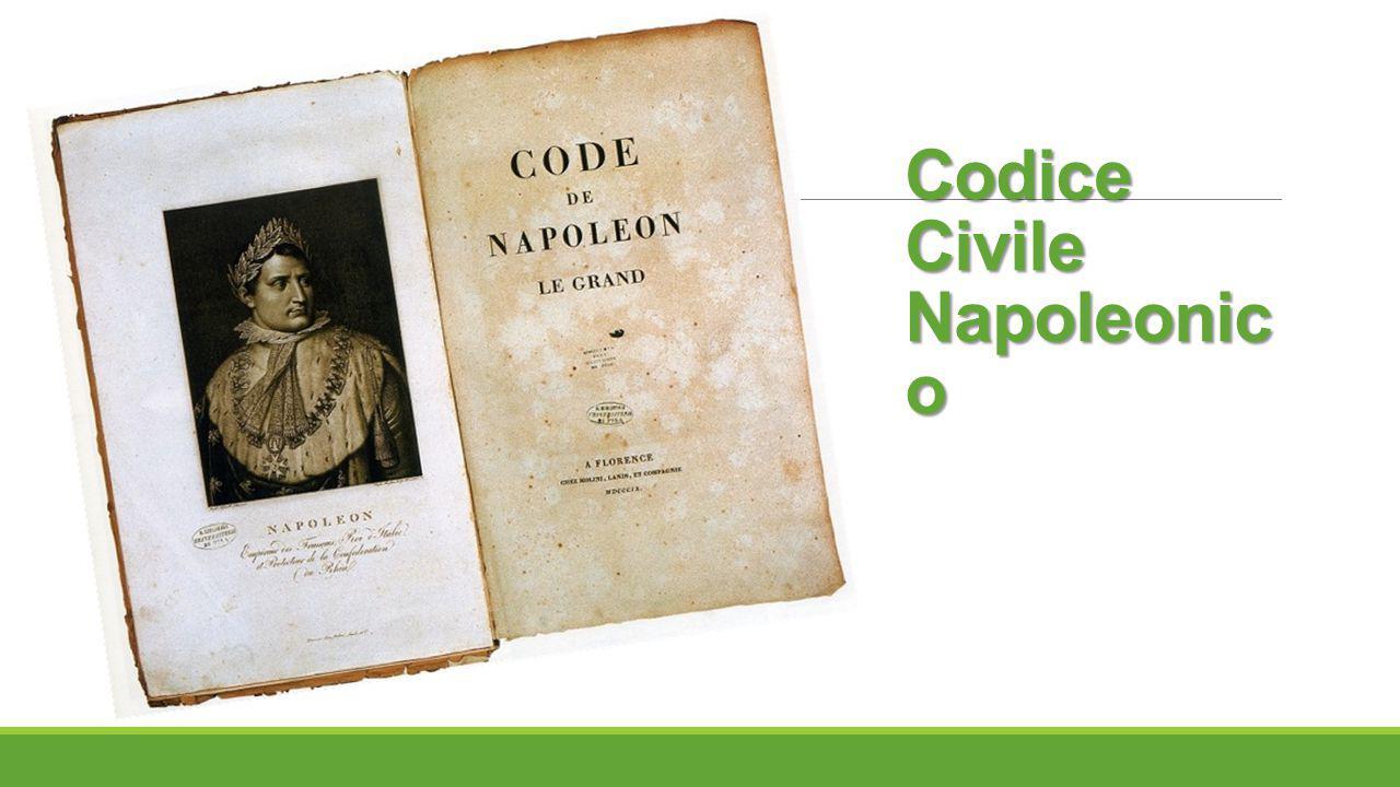 Codice Civile Napoleonico