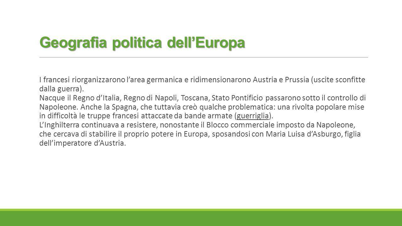 Geografia politica dell'Europa