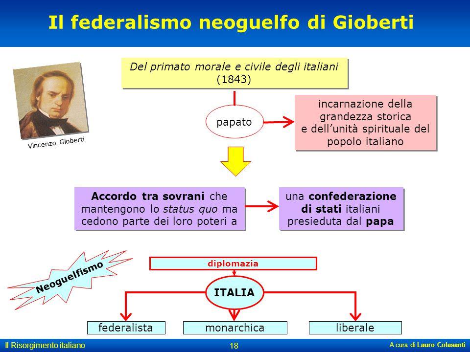 Il federalismo neoguelfo di Gioberti