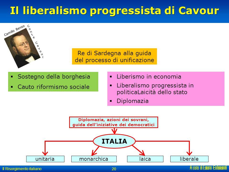 Il liberalismo progressista di Cavour