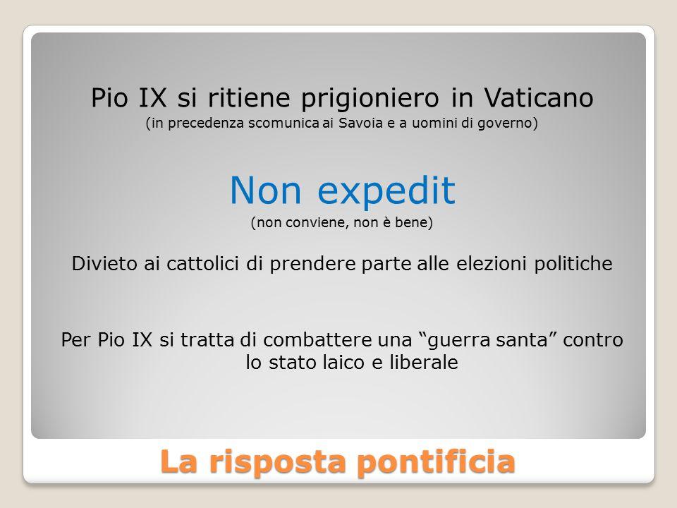 La risposta pontificia