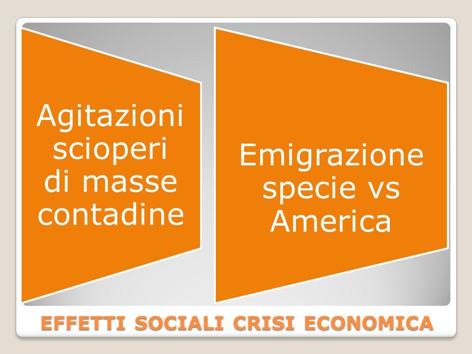 effetti sociali crisi economica