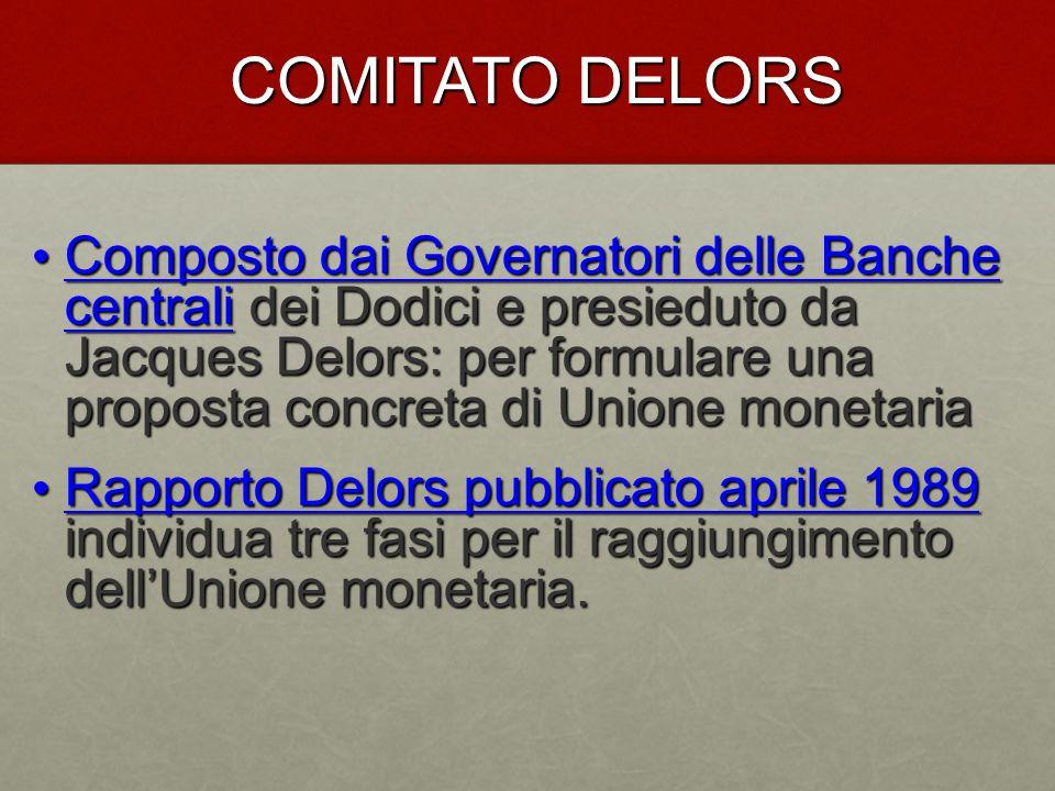 COMITATO DELORS