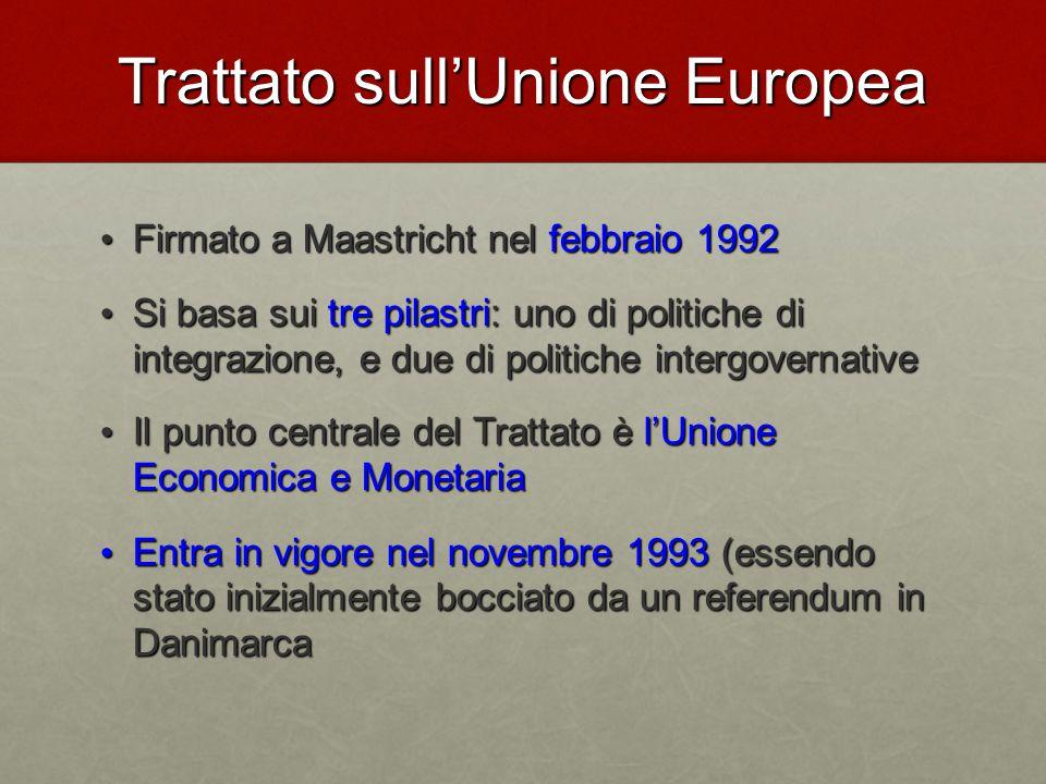 Trattato sull'Unione Europea