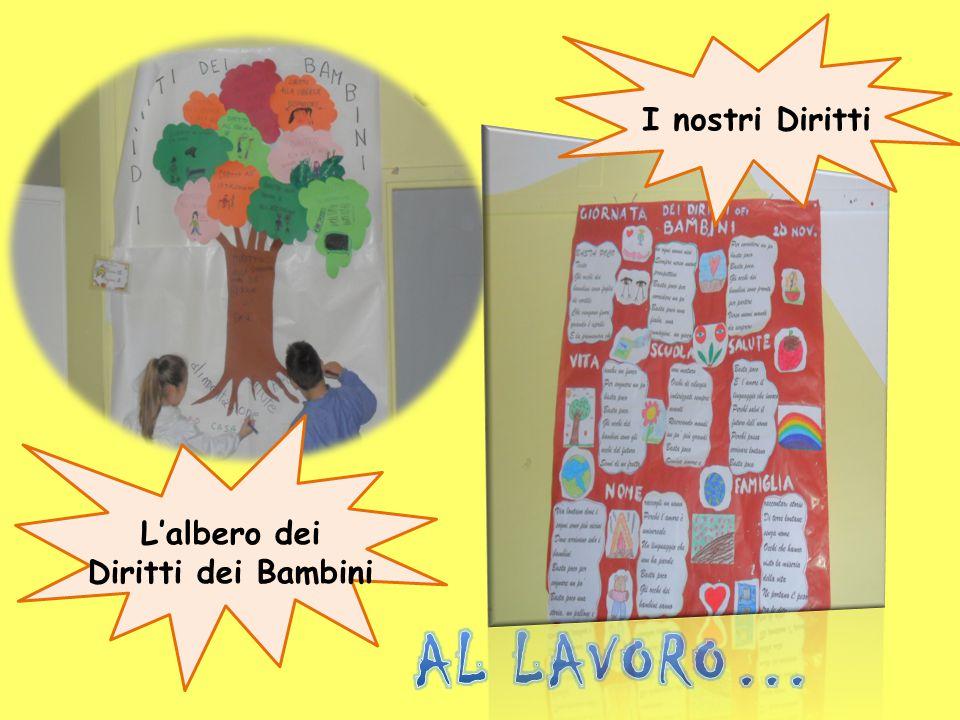 I nostri Diritti L'albero dei Diritti dei Bambini AL LAVORO…