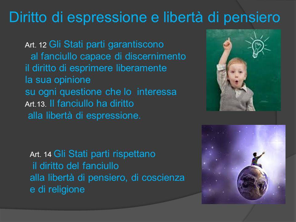 Diritto di espressione e libertà di pensiero