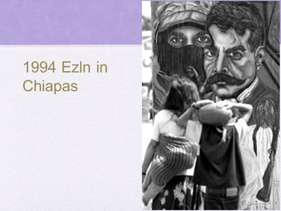 1994 Ezln in Chiapas