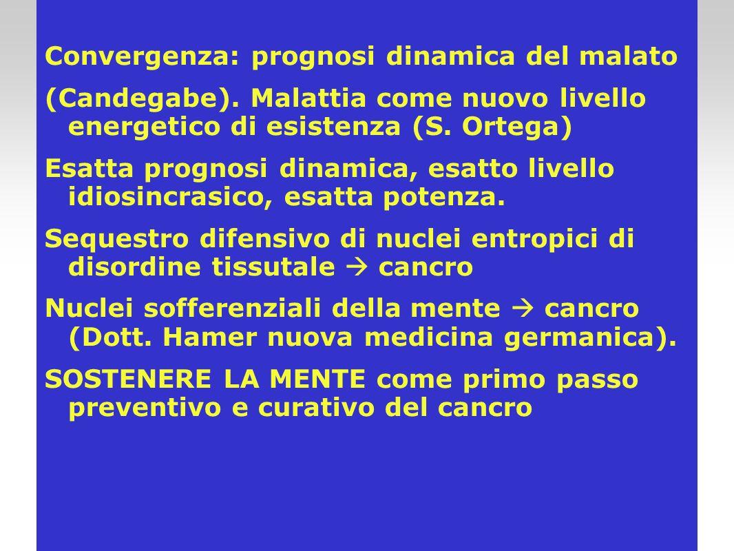Convergenza: prognosi dinamica del malato