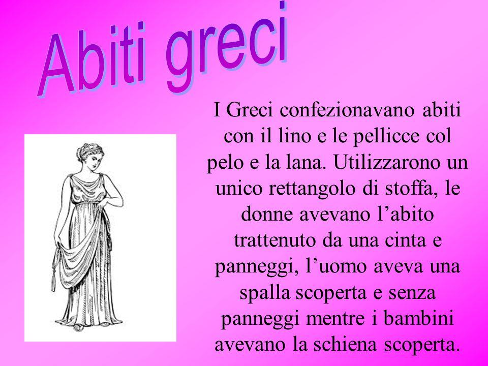 Abiti greci